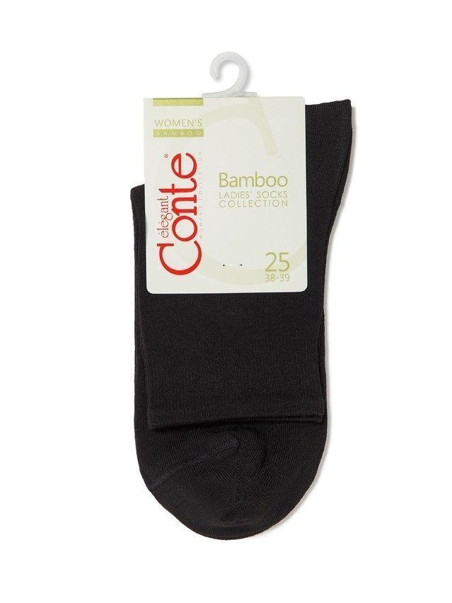 Women's socks CONTE ELEGANT BAMBOO, s.23, 000 black - 3