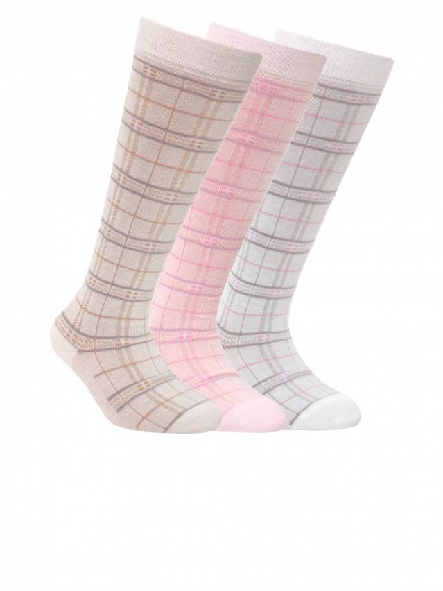 Children's knee high socks CONTE-KIDS TIP-TOP, s.22, 040 cappuccino - 1
