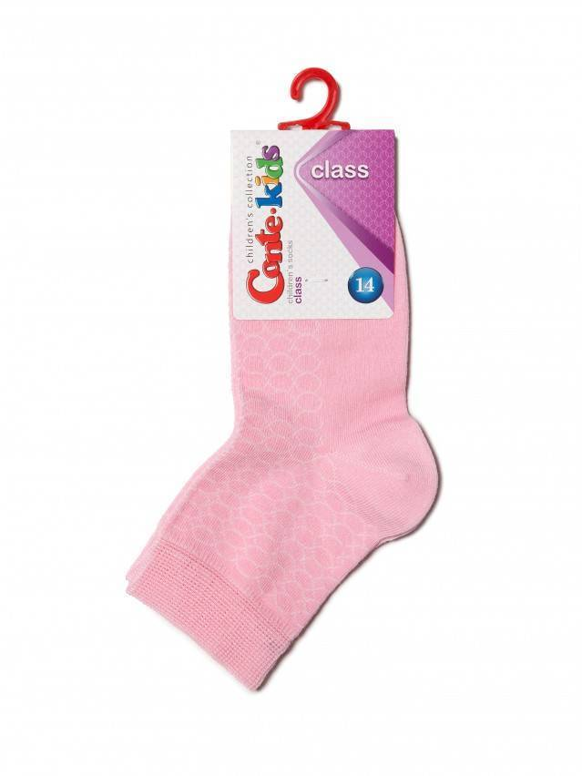 Children's socks CONTE-KIDS CLASS, s.14, 147 light pink - 2