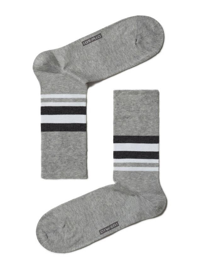 Men's socks DiWaRi COMFORT, s. 42-43, 041 grey - 1