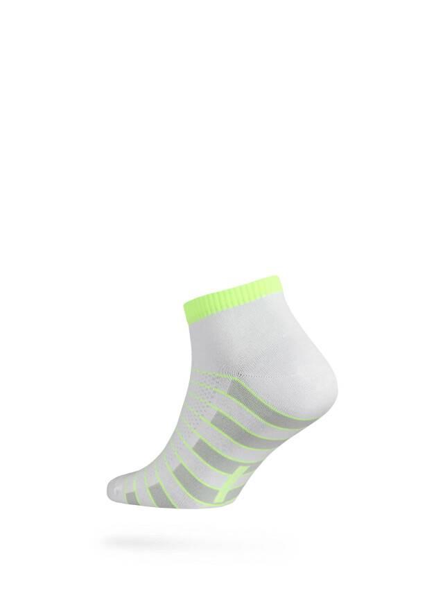 Men's socks DiWaRi ACTIVE, s. 40-41, 067 white-lettuce green - 2