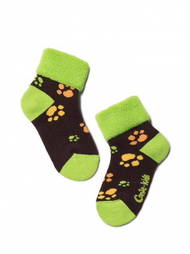 Children's socks CONTE-KIDS SOF-TIKI, s.12, 244 chocolate - 1