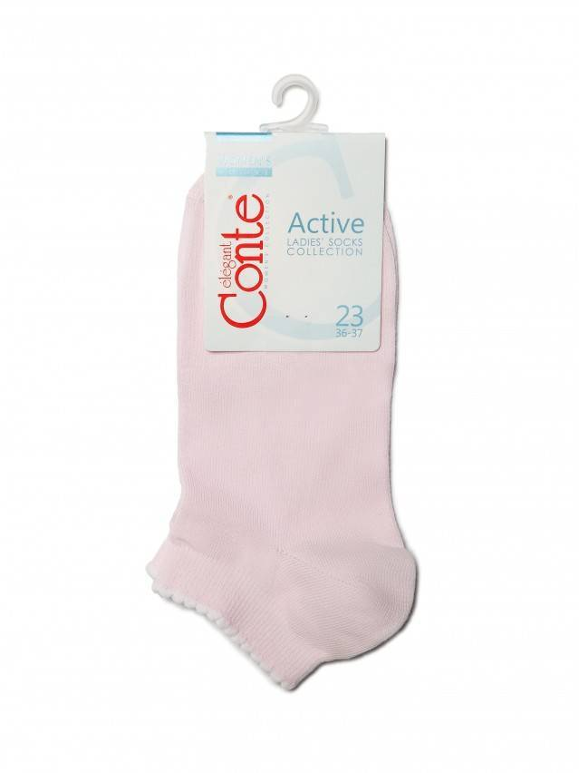 Women's socks CONTE ELEGANT ACTIVE, s.23, 041 light pink - 3