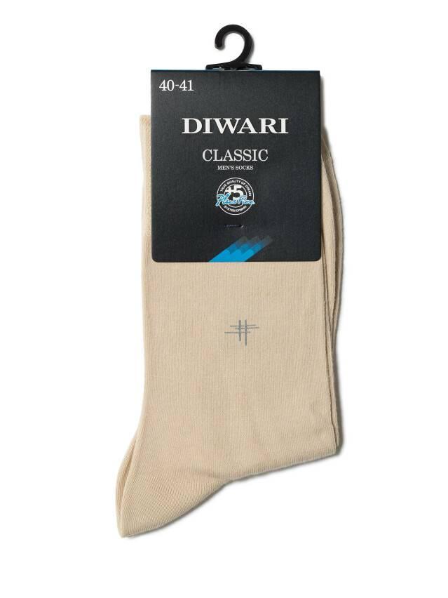 Men's socks DiWaRi CLASSIC, s. 40-41, 007 beige - 2