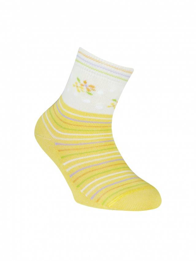 Children's socks CONTE-KIDS TIP-TOP, s.12, 253 yellow - 1