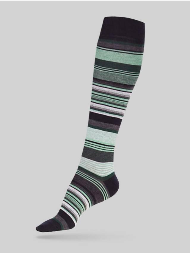 Women's knee high socks CONTE ELEGANT COMFORT, s.23, 001 light green - 1