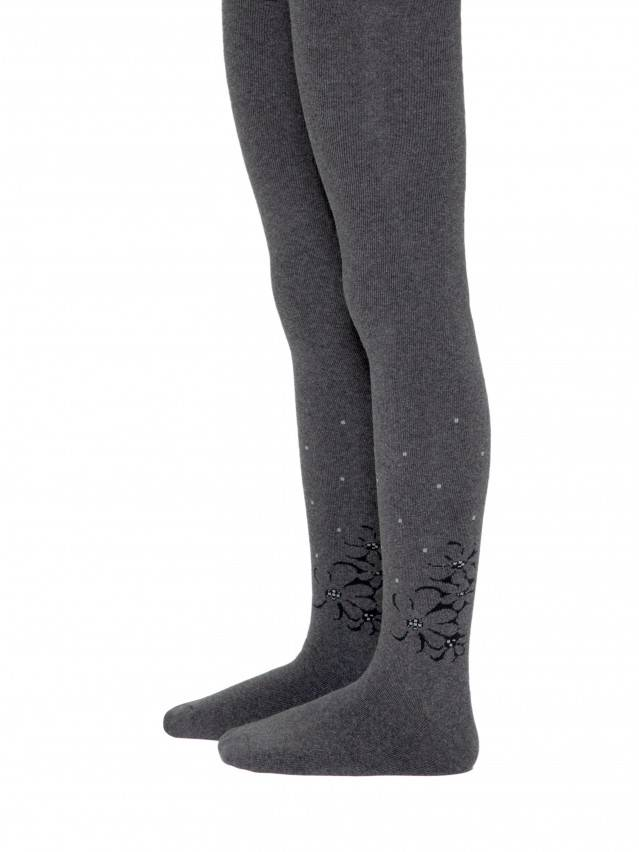 Children's tights CONTE-KIDS SOF-TIKI, s.140-146 (22),256 dark grey - 1