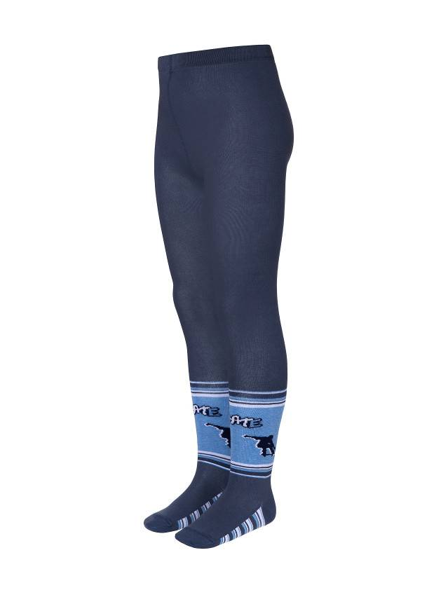 Children's tights CONTE-KIDS TIP-TOP, s.116-122 (18),296 dark denim - 1