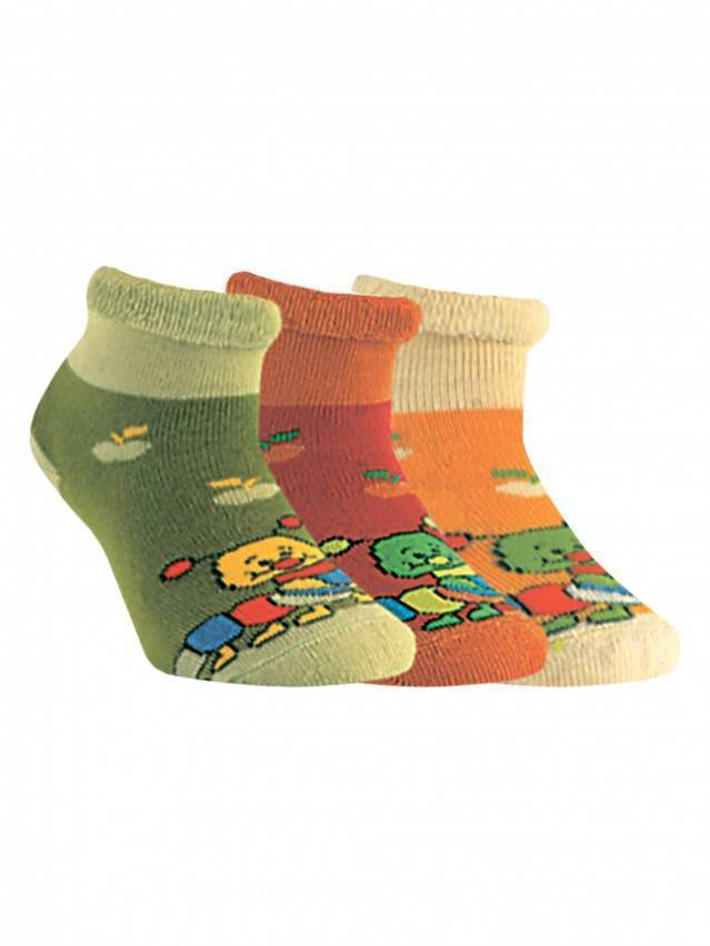 Children's socks CONTE-KIDS SOF-TIKI, s.12, 072 dark lettuce green - 1
