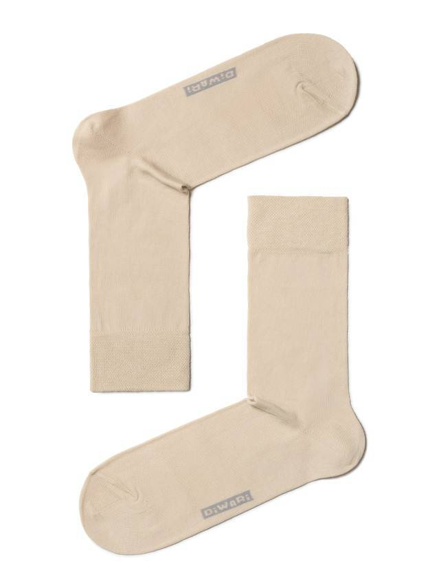 Men's socks DiWaRi OPTIMA (All seasons),s. 40-41, 000 beige - 1