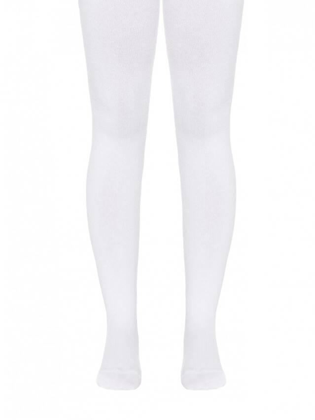 Children's tights CONTE-KIDS SOF-TIKI, s.128-134 (20),000 white - 1