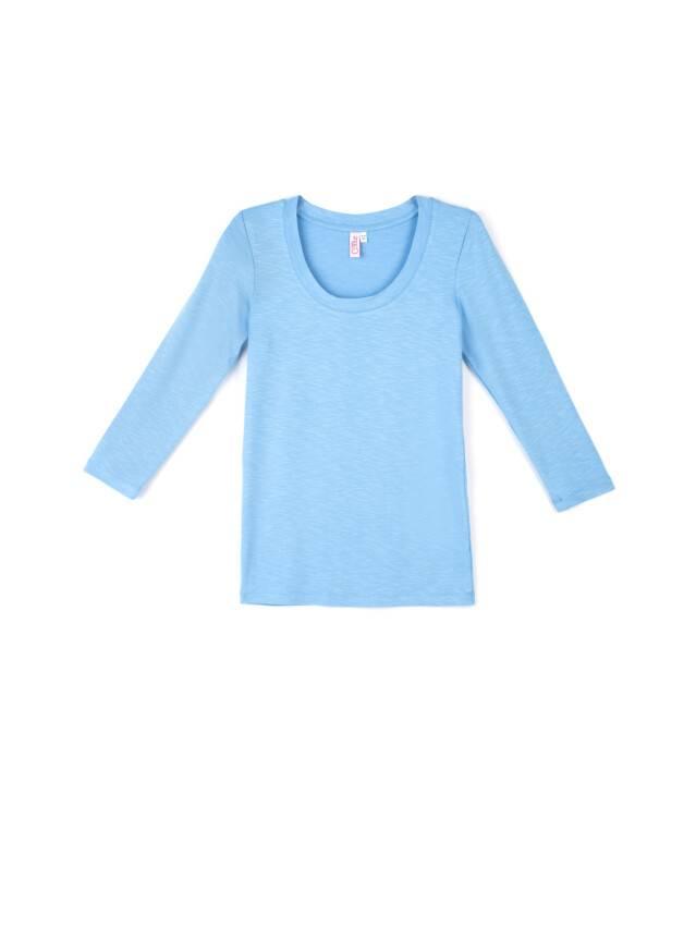 Women's polo neck shirt CONTE ELEGANT LD 478, s.158,164-100, blue - 1