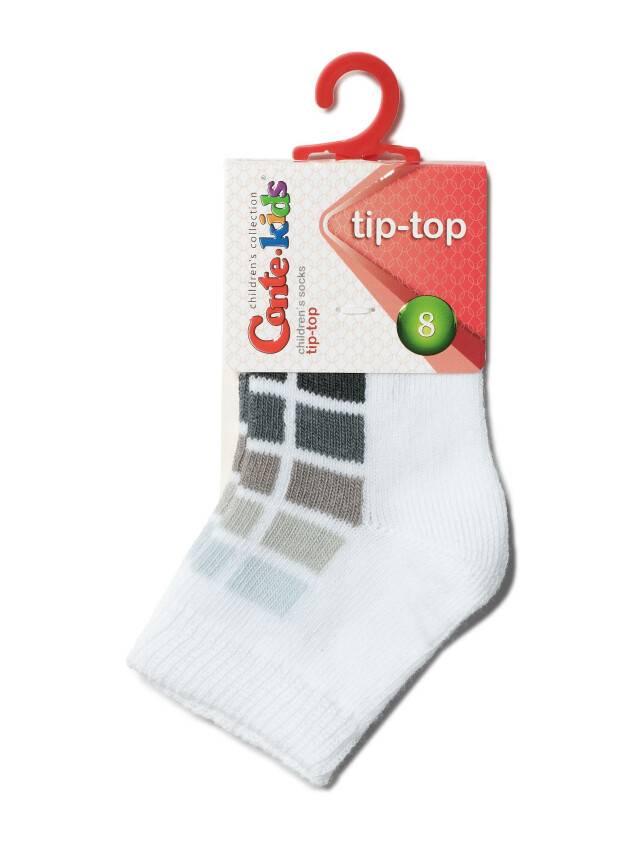 Children's socks CONTE-KIDS TIP-TOP, s.8, 217 white-grey - 2