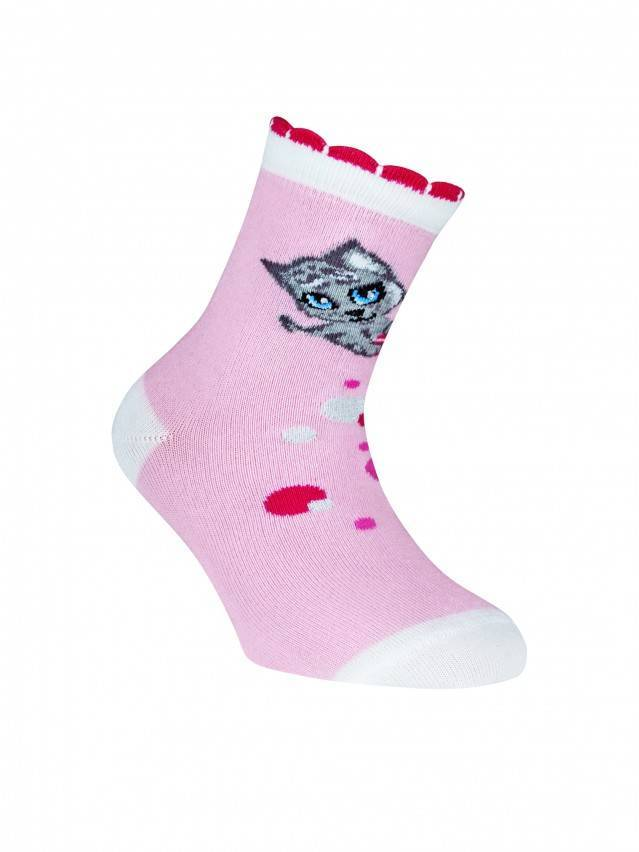 Children's socks CONTE-KIDS TIP-TOP, s.16, 248 light pink - 1