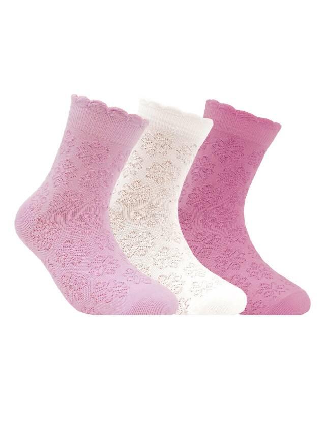 Children's socks CONTE-KIDS BRAVO, s.18, 186 light pink - 1