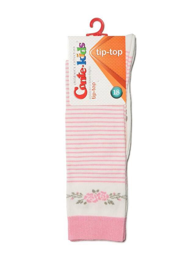 Children's knee high socks CONTE-KIDS TIP-TOP, s.18, 038 milky-pink - 2