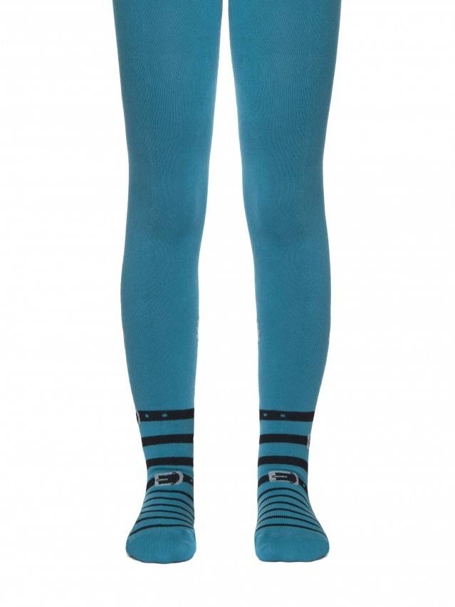 Children's tights CONTE-KIDS TIP-TOP, s.128-134 (20),411 turquoise - 1