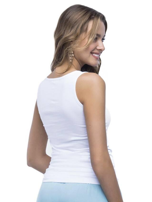 Women's polo neck shirt CONTE ELEGANT LD 526, s.158,164-100, white - 1