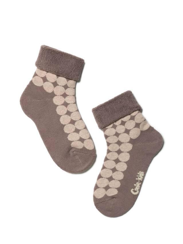Children's socks CONTE-KIDS SOF-TIKI, s.16, 222 coffee - 1
