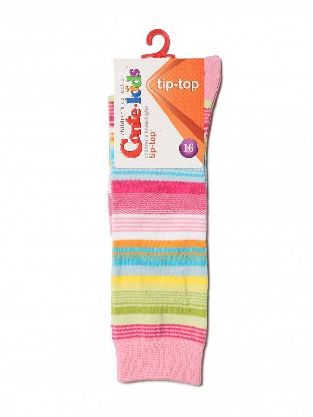 Children's knee high socks CONTE-KIDS TIP-TOP, s.16, 024 light pink - 2