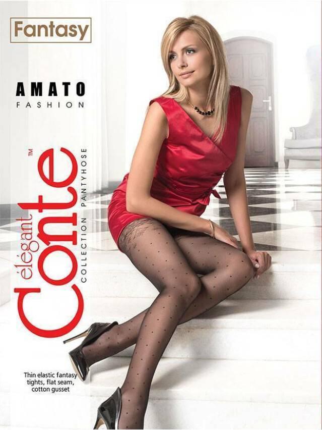 Women's tights CONTE ELEGANT AMATO, s.2, bianco - 2