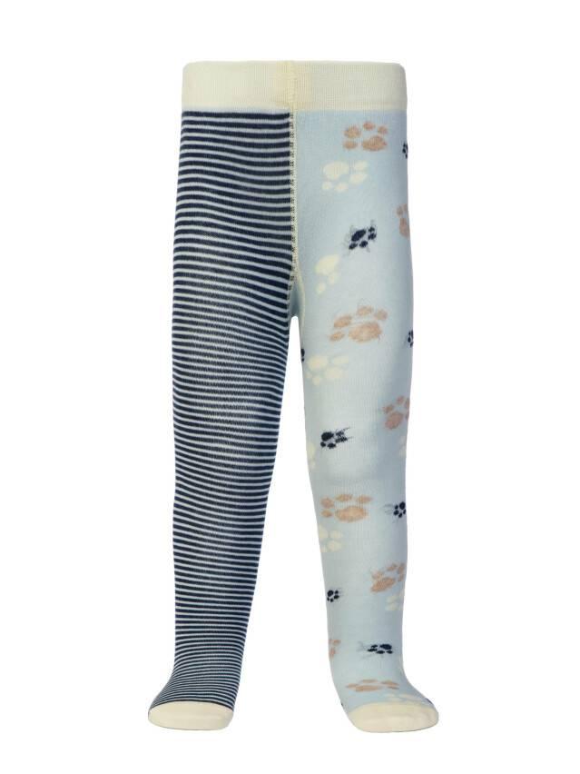 Children's tights CONTE-KIDS TIP-TOP, s.62-74 (12),356 light blue-navy - 2