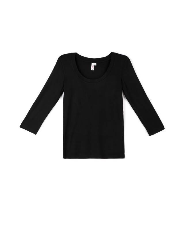 Women's polo neck shirt CONTE ELEGANT LD 478, s.158,164-100, black - 1