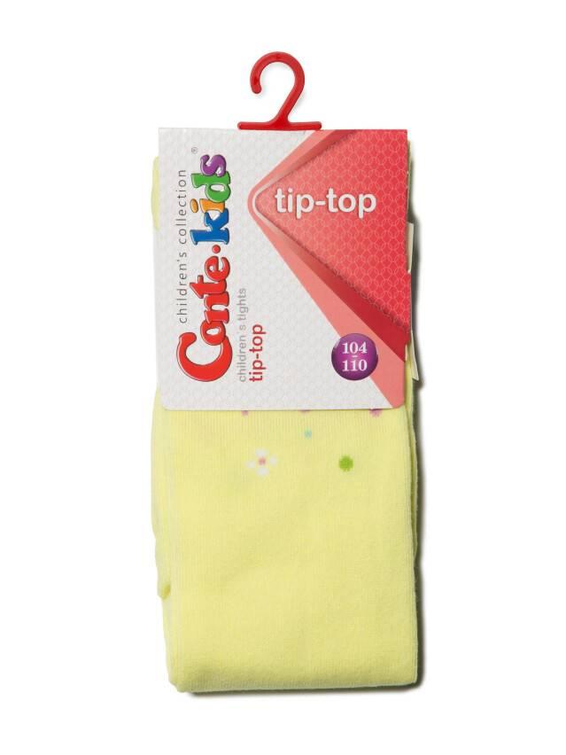 Children's tights CONTE-KIDS TIP-TOP, s.104-110 (16),403 lemon - 2