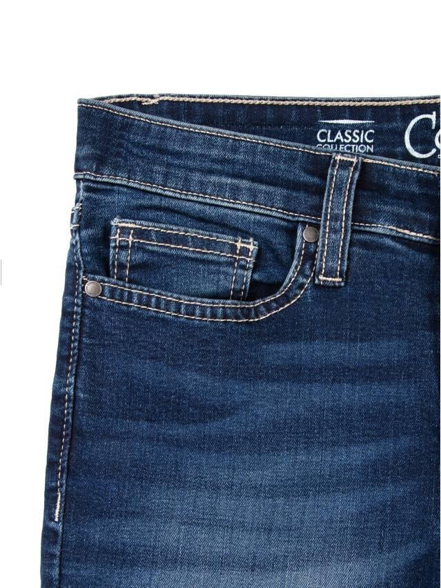 Denim trousers CONTE ELEGANT 4640/4915D, s.170-102, dark blue - 5