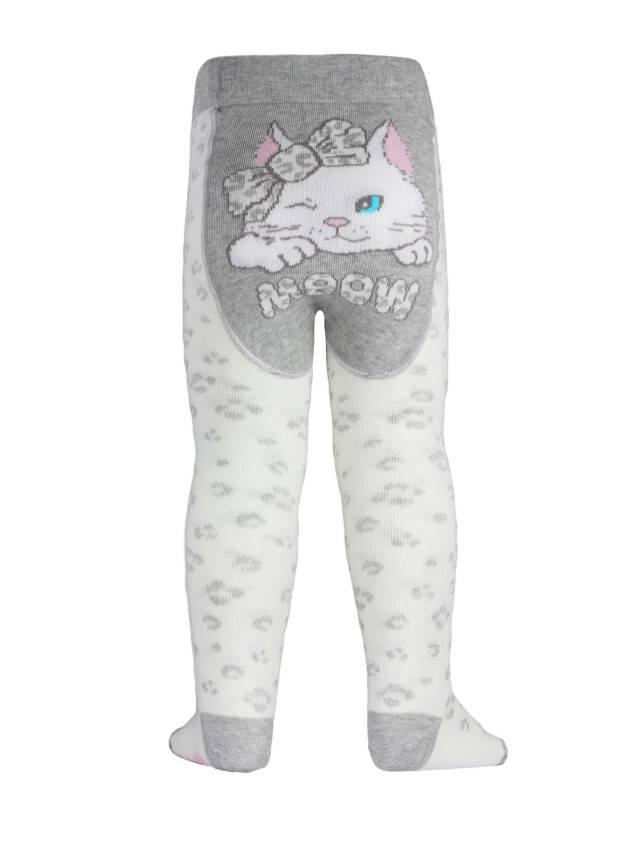 Children's tights CONTE-KIDS TIP-TOP, s.62-74 (12),382 milky-grey - 1