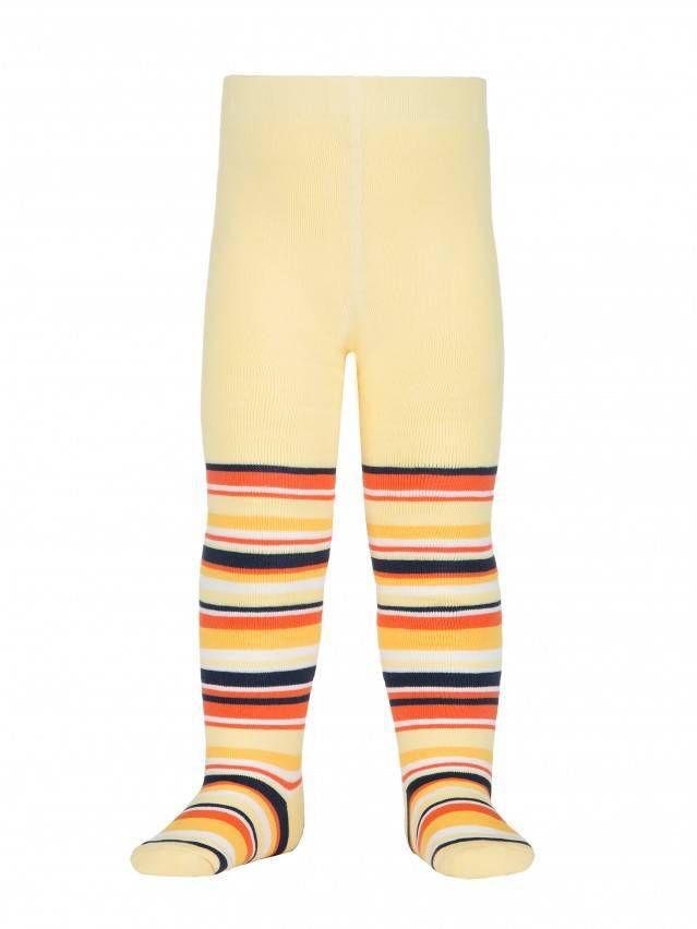 Children's tights CONTE-KIDS SOF-TIKI, s.80-86 (14),223 light yellow - 1