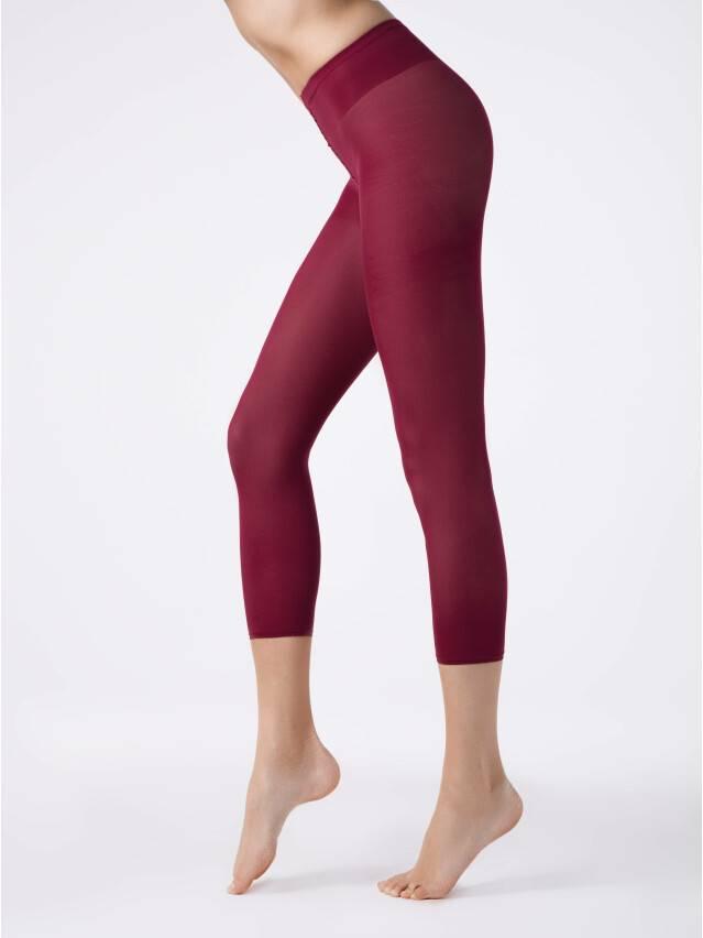 Women's leggings CONTE ELEGANT COLOURS LEGGINS, s.2, bordo - 1