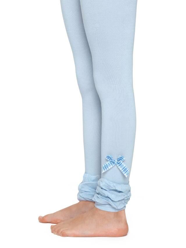 Leggings for girls CONTE-KIDS VIVA, s.104-110, 000 pale turquoise - 1