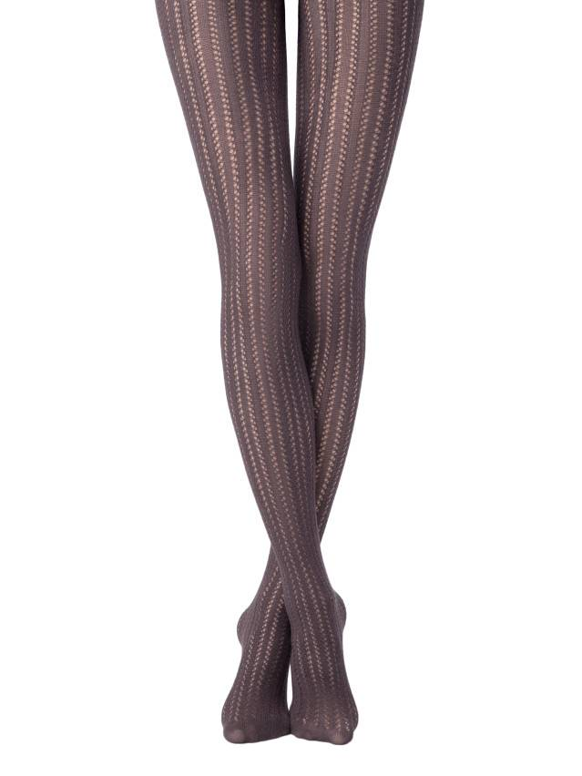 Women's tights CONTE ELEGANT FASHION, s.2, grey - 1