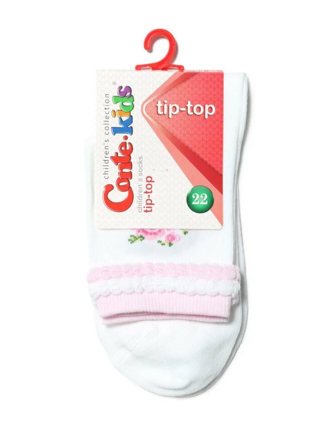 Children's socks CONTE-KIDS TIP-TOP, s.22, 194 white - 2