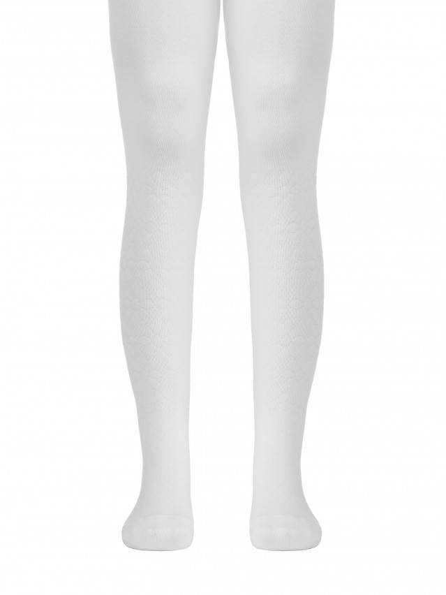 Children's tights CONTE-KIDS TIP-TOP, s.62-74 (12),360 white - 1