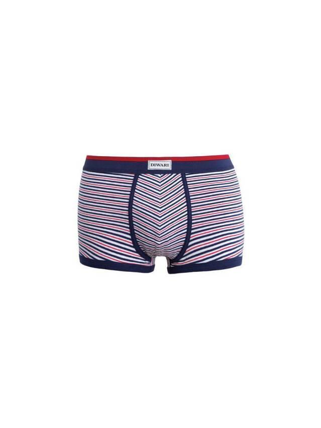 Men's pants DiWaRi BAND MSH 409, s.102,106/XL, wine-coloured - 1