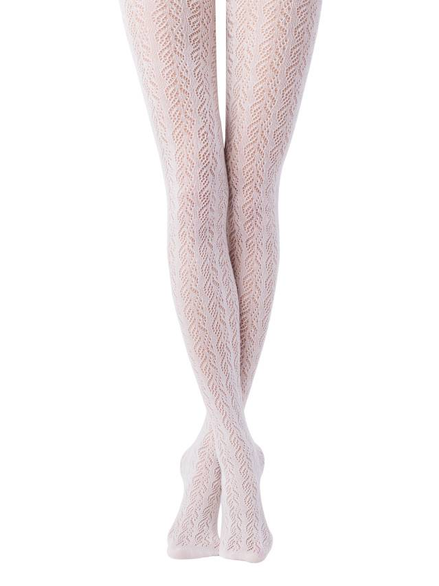 Women's tights CONTE ELEGANT EFFECT, s.2, bianco - 1