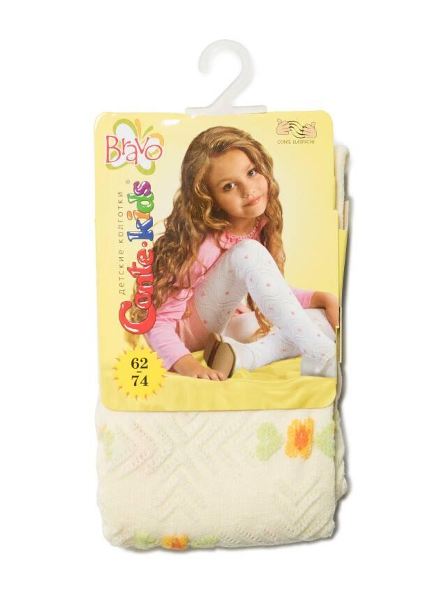 Children's tights CONTE-KIDS BRAVO, s.62-74 (12),216 cream - 2