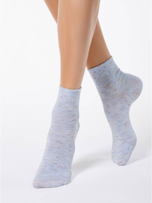 Women's socks CONTE ELEGANT COMFORT, s.23, 000 pale violet - 1