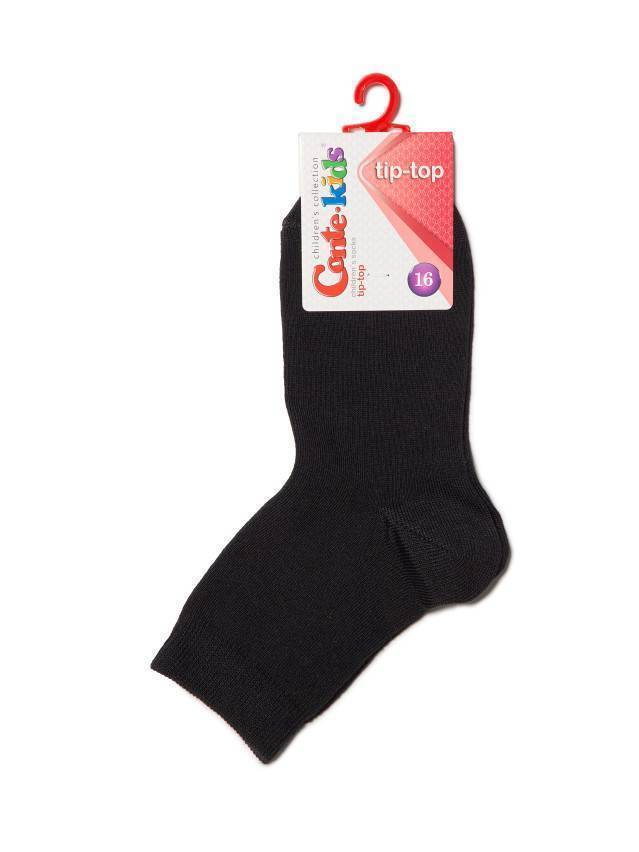 Children's socks CONTE-KIDS TIP-TOP, s.18, 000 black - 2