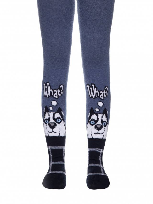 TIP-TOP tights with fluffy drawings