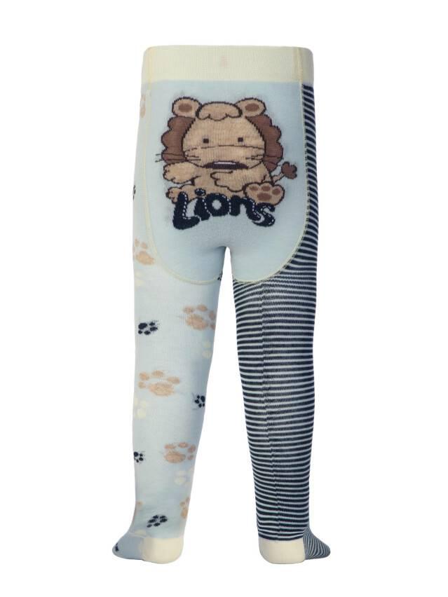 Children's tights CONTE-KIDS TIP-TOP, s.62-74 (12),356 light blue-navy - 1