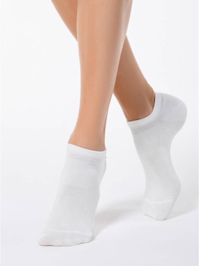 Women's socks CONTE ELEGANT ACTIVE, s.23, 079 white - 1