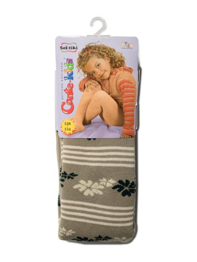 Children's tights CONTE-KIDS SOF-TIKI, s.128-134 (20),206 mustard - 1