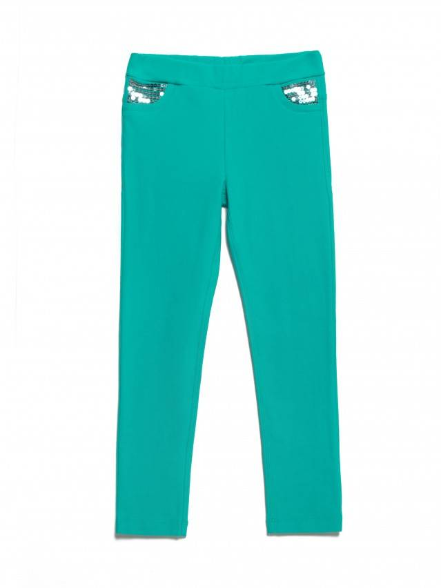 Leggings for girls CONTE ELEGANT PINA, s.110,116-56, green - 3