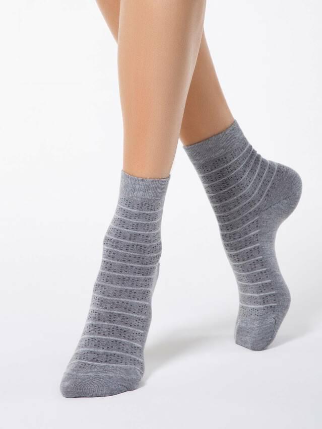 Women's socks CONTE ELEGANT COMFORT, s.23, 047 grey - 1