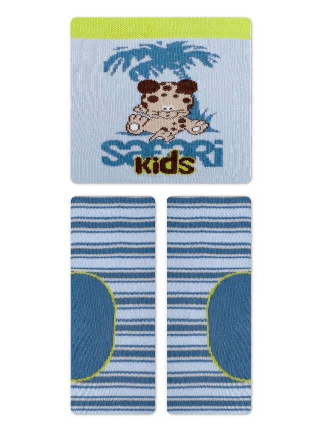 Children's tights CONTE-KIDS TIP-TOP, s.62-74 (12),367 blue - 4