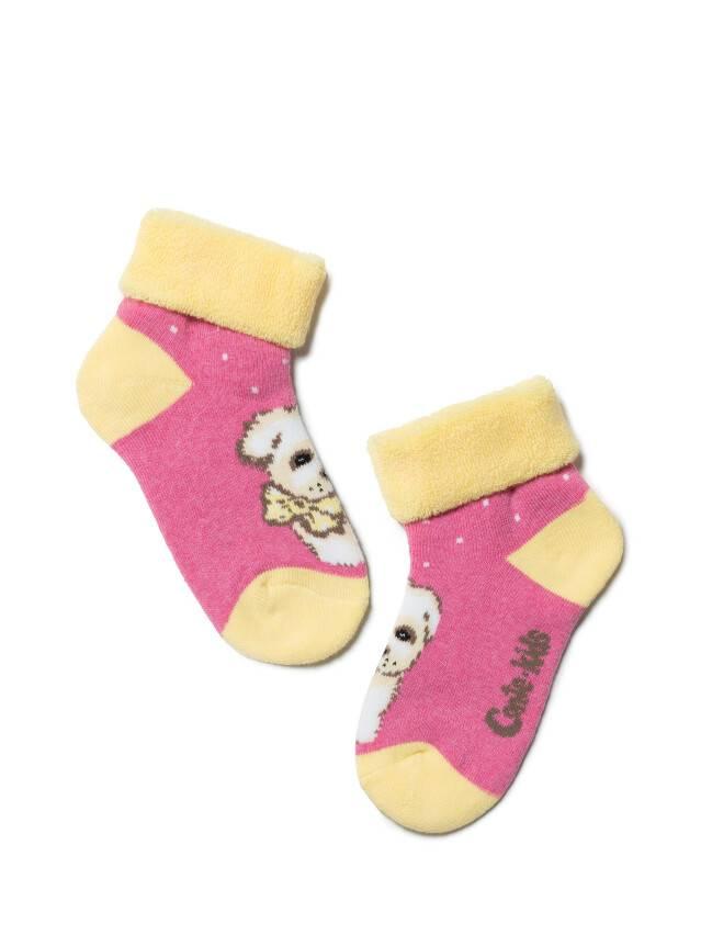 Children's socks CONTE-KIDS SOF-TIKI, s.12, 221 pink - 1