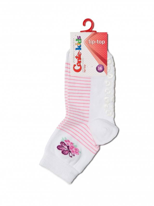 Children's socks CONTE-KIDS TIP-TOP, s.16, 160 white - 2